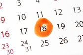 Appointment date — Stock Photo
