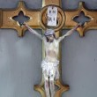 Jesus crucified on the cross — Stock Photo #2696745