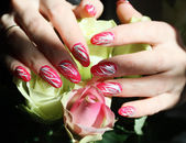 Nail art design — Photo