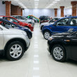 Cars  lot for sale - 图库照片