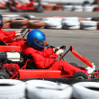 Go cart race — Stock Photo
