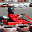 Go cart race — Foto de Stock