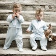 Twin boys - Stock Photo