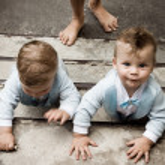 Twins — Stock Photo