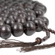 Buddhist prayer beads — Stock Photo