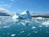 Melting icebergs — Stockfoto