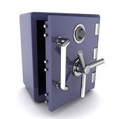 Open safe — Stock Photo