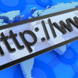 Internet address - Foto de Stock  