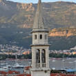 Stock Photo: Old Church tower in Budva