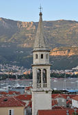 Old Church tower in Budva — Stock Photo