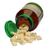Bear shaped vitamine pills — Stock Photo