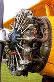 Classic star engine — Stock Photo