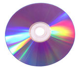 CD or DVD colorburst — Stock Photo