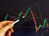 Mercado de valores — Foto de Stock