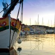 Harbor of Losinj — Stockfoto