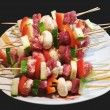 Raw grill sticks — Stock Photo