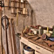 Special carpenter workshop — Foto de stock #2747945