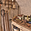 Special carpenter workshop — Stock Photo