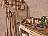 Special carpenter workshop — Stock fotografie
