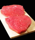 Tuna steaks — Stock Photo