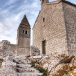 Stone church — Stock Photo