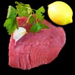 Tuna steak — Stock Photo