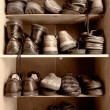 Shoes box — Stock Photo
