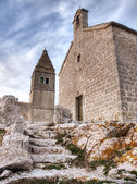 Stone church — Foto Stock