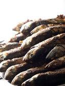 Pile of mackerels — Stock Photo