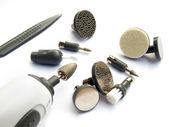 Conjunto de manicure de unhas — Foto Stock