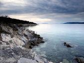 Gloomy Adriatic Sea — Stock Photo