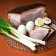 Royalty-Free Stock Photo: Ham and eggs