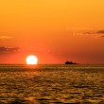 Fishing sunset — Stock Photo #2919805