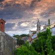 Losinj church — Foto Stock