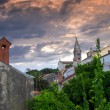 Losinj church — Stock Photo