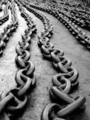 Anchor chain — Stock Photo