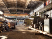 старый завод — Стоковое фото