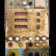 Retro control panel - Stock fotografie