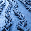 Blue chains — Foto Stock