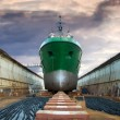 Graving Dock - Stock Photo