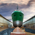 Graving dock — Stockfoto