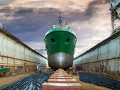 Graving Dock — Foto de Stock