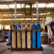 Gas cylinders — Stock fotografie
