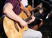 Guitarists — Stock Photo