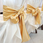 Wedding ribbon — Stock Photo