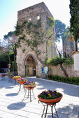 Medieval tower in Ravello — Stock Photo
