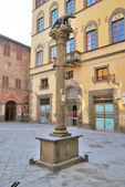 Monumento della Lupa (Siena) — Stock Photo
