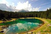 Alpine lake (Italy) — Stock Photo