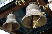 Bells of the monastery of St. Jonah — Stock Photo