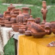 Stock Photo: Clay crockery